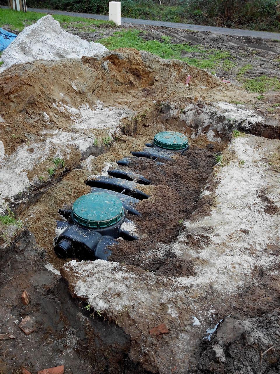 fosse septique enterrée