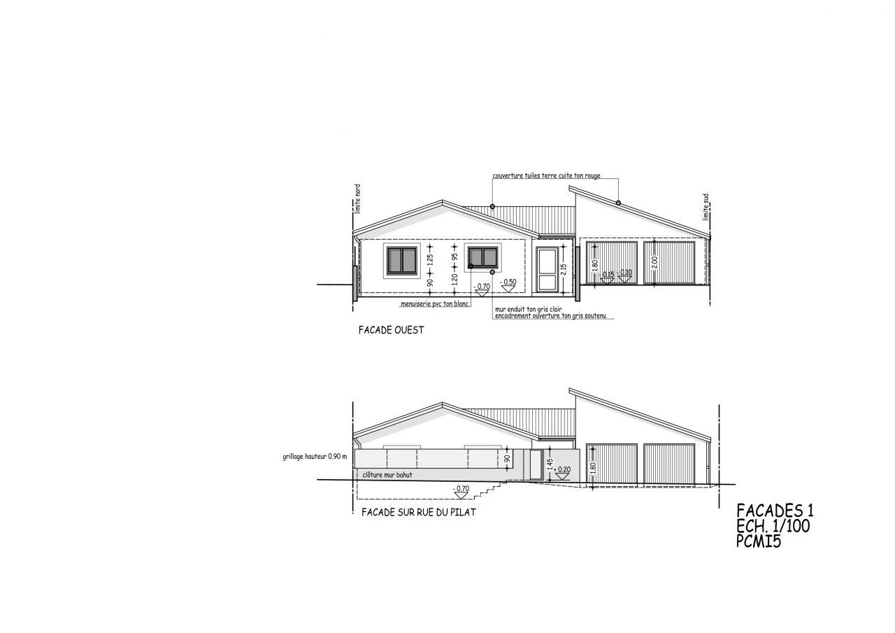 plan projet plain pied en limite de propri t sur deux cot s 13 messages. Black Bedroom Furniture Sets. Home Design Ideas