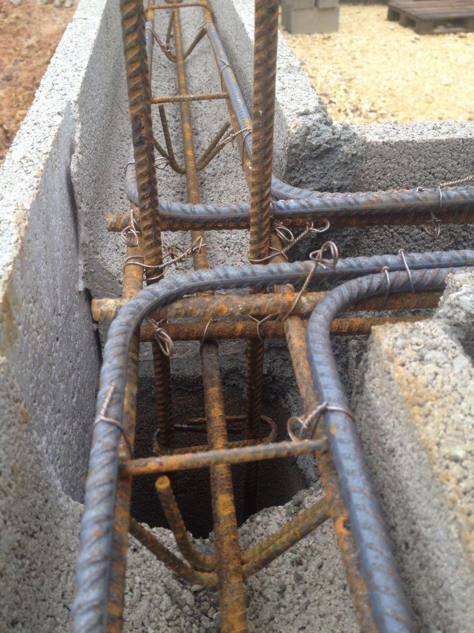ferraillage chainage