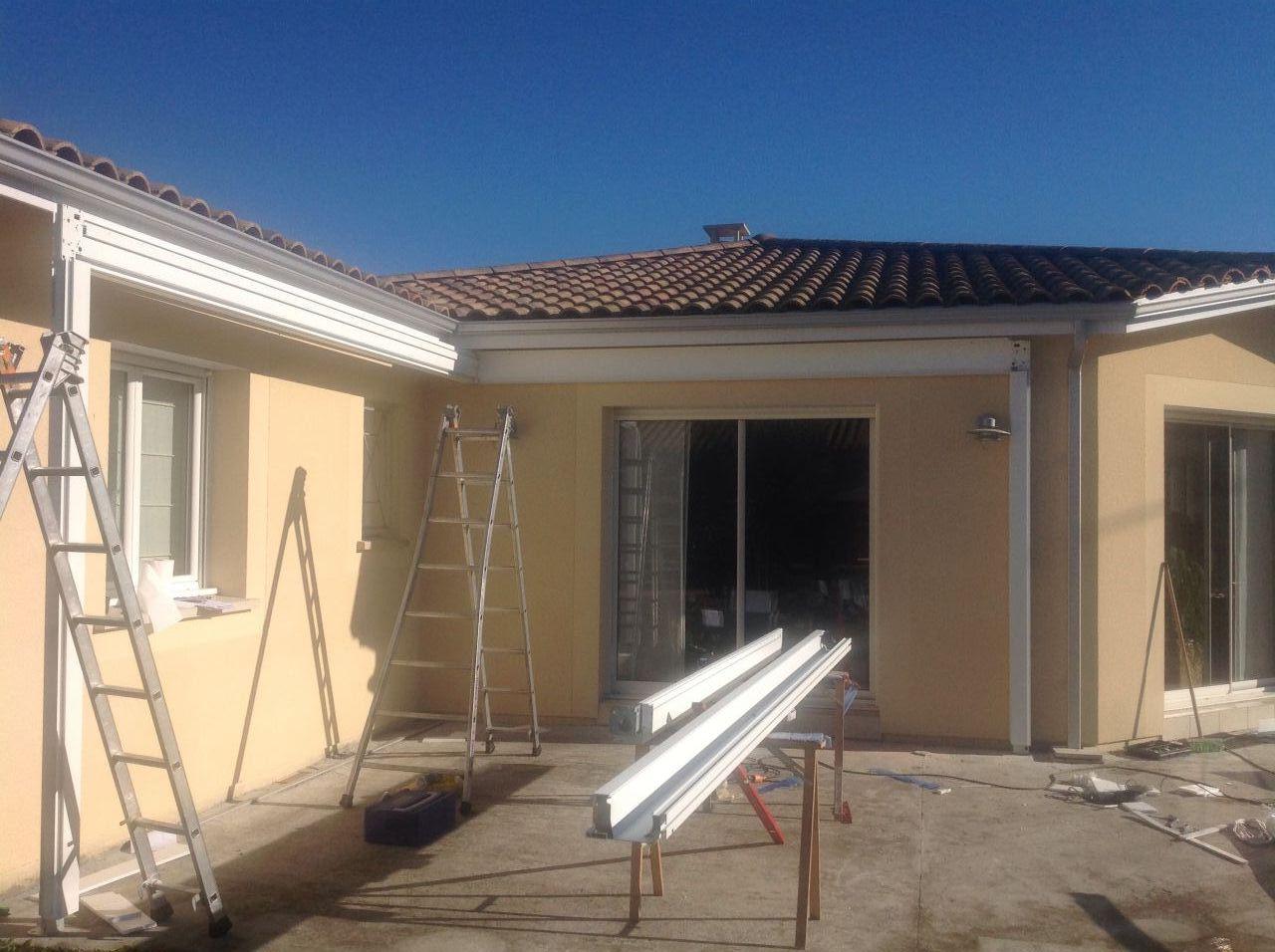 travaux ext rieurs malgr la m t o news terrasse est en gravier stabilis s st pierre de. Black Bedroom Furniture Sets. Home Design Ideas