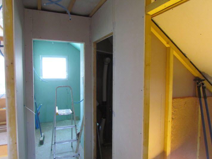 suite du placo finition des bandes au rdc placo au 1er haute saone. Black Bedroom Furniture Sets. Home Design Ideas