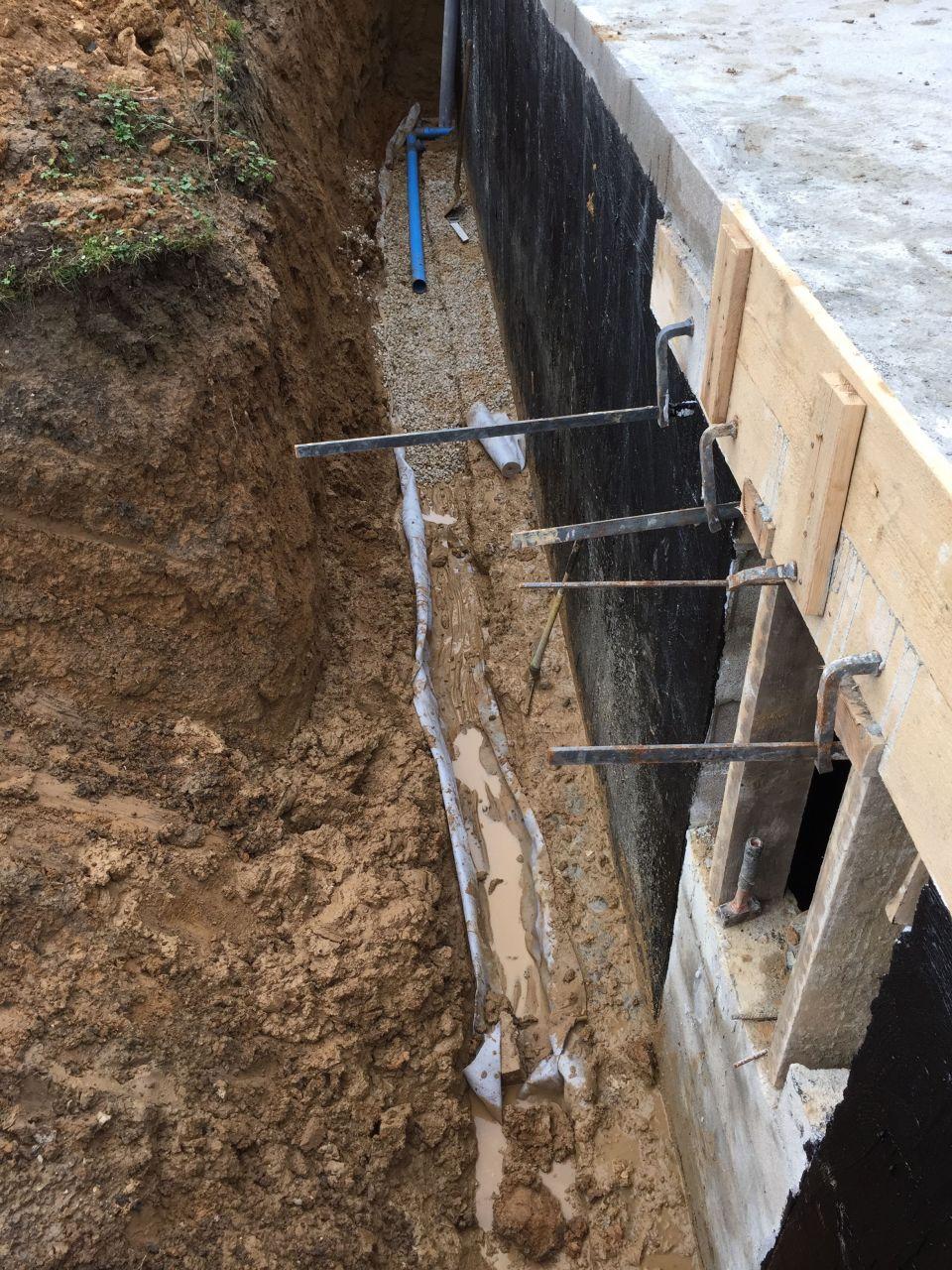 Pose du drain delta ms ca monte ca monte devis for Chevreuse piscine