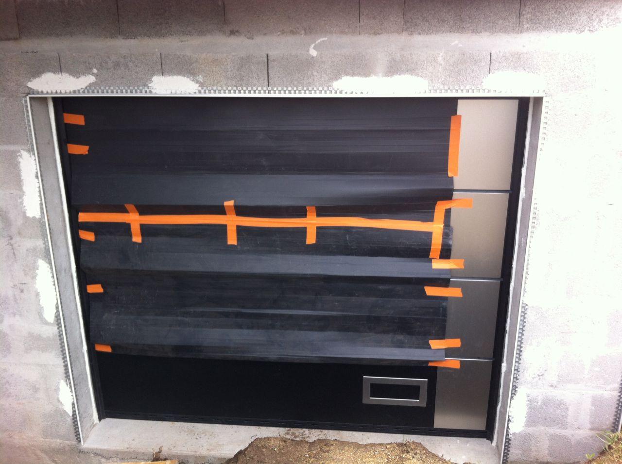 porte de garage sectionnelle normstahl