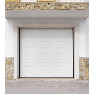 Porte de garage sectionnelle <br /> Achat Castorama