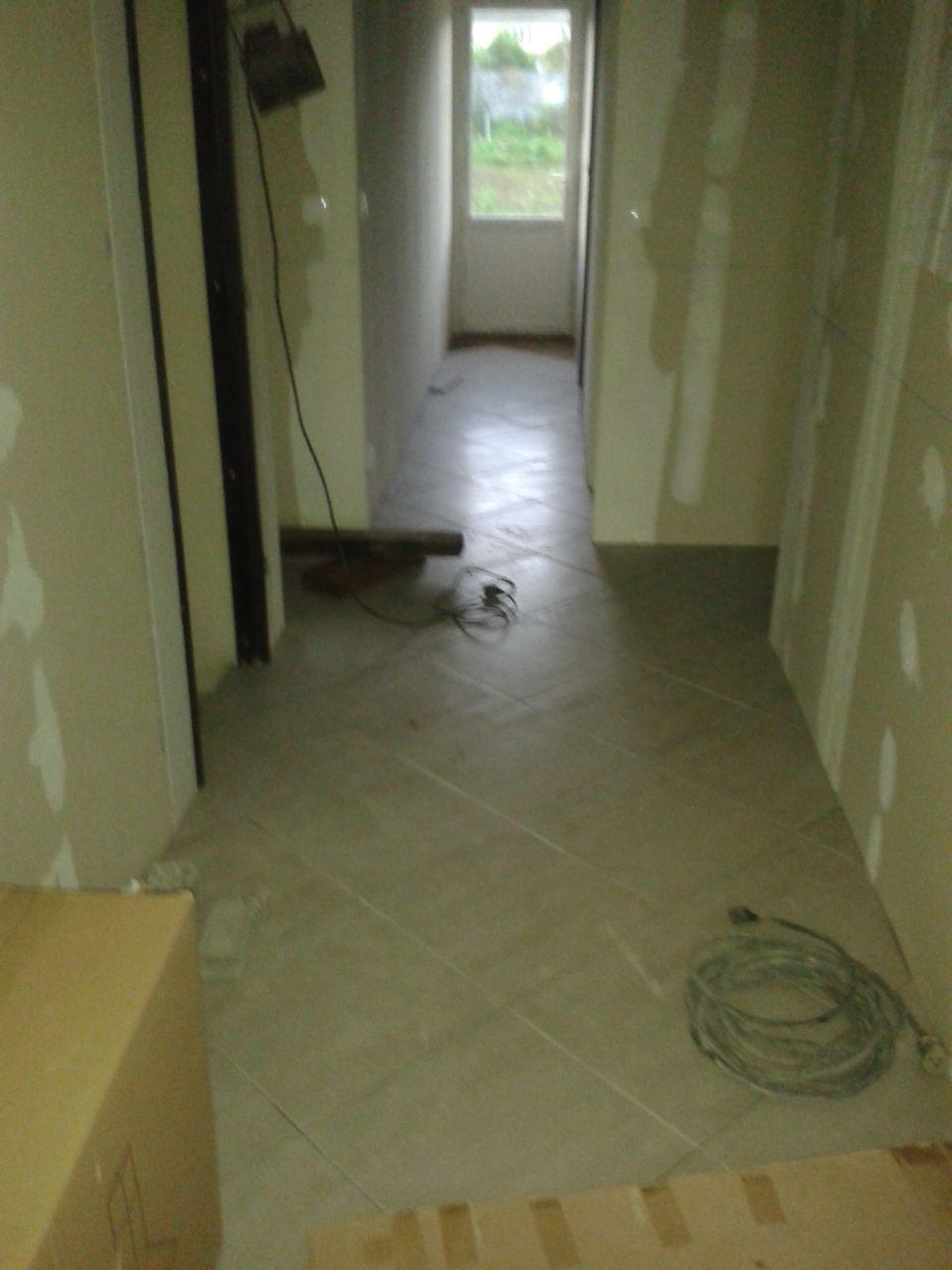 carrelage des couloirs