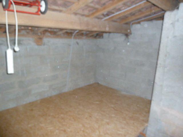 mezzanine plancher en OSB