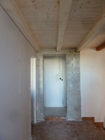 plafond entrée refait