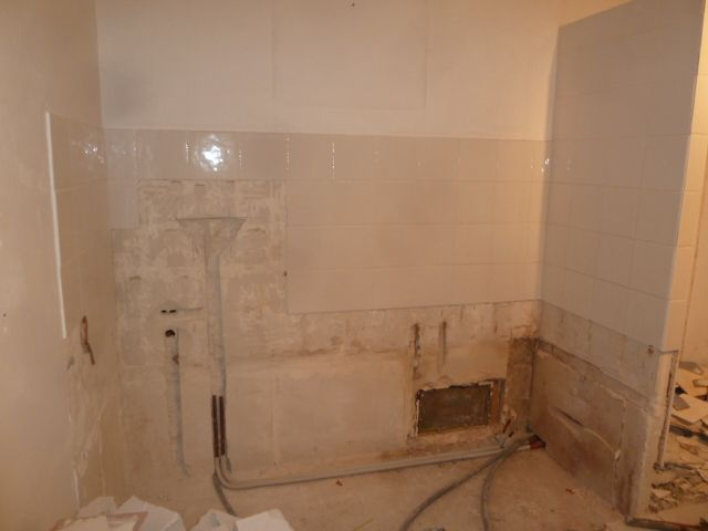 salle de bains côté couloir