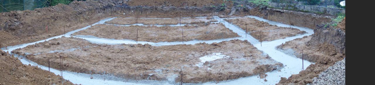 vue panoramique des fondations
