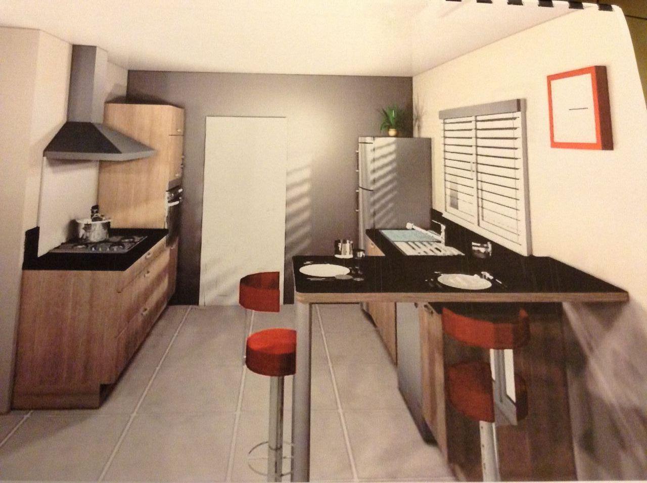 Maison de 123 m2 plain pied beaulieu sur oudon mayenne for Cuisine 3d forum