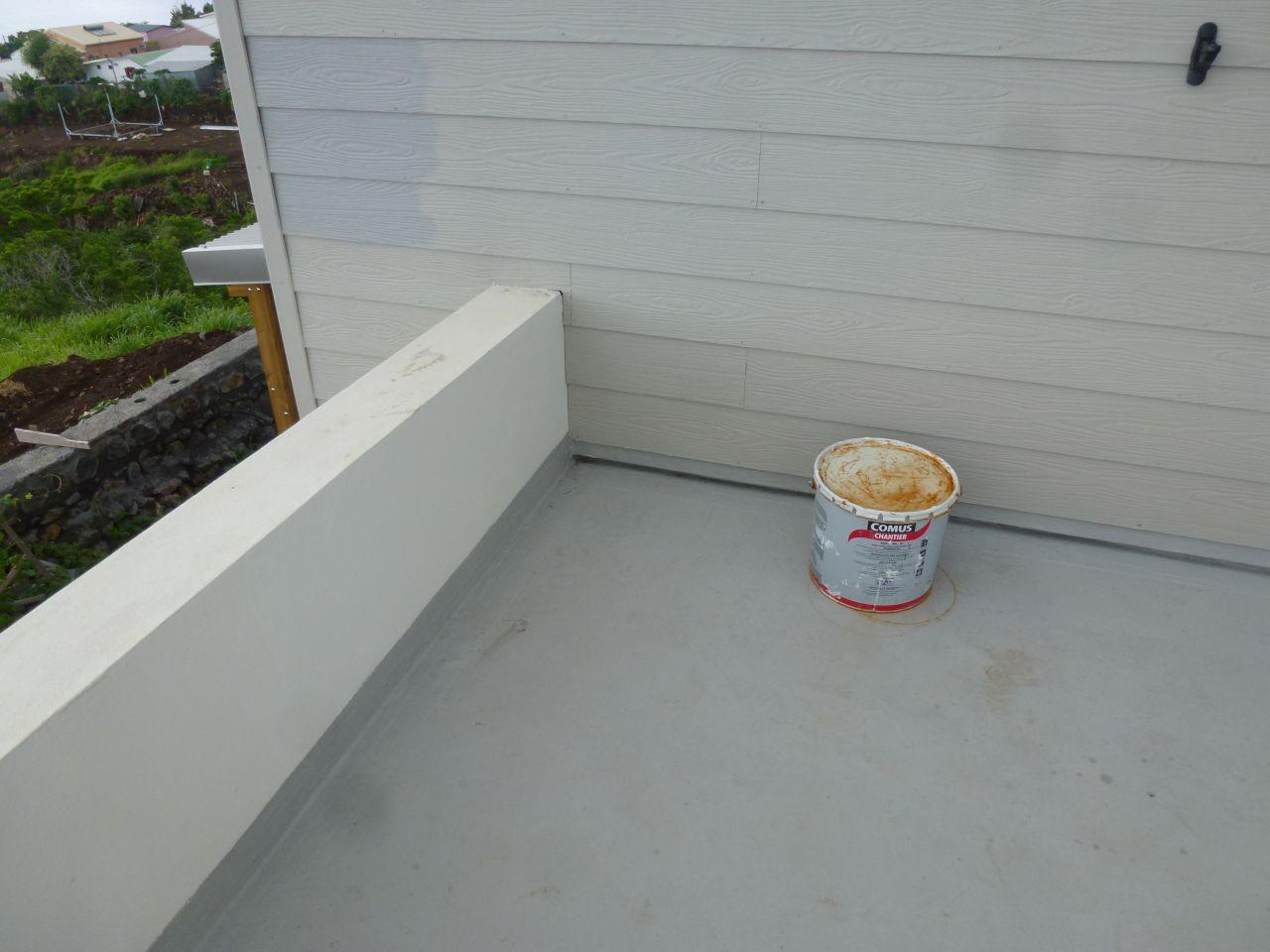 étanchéité de la toiture terrasse