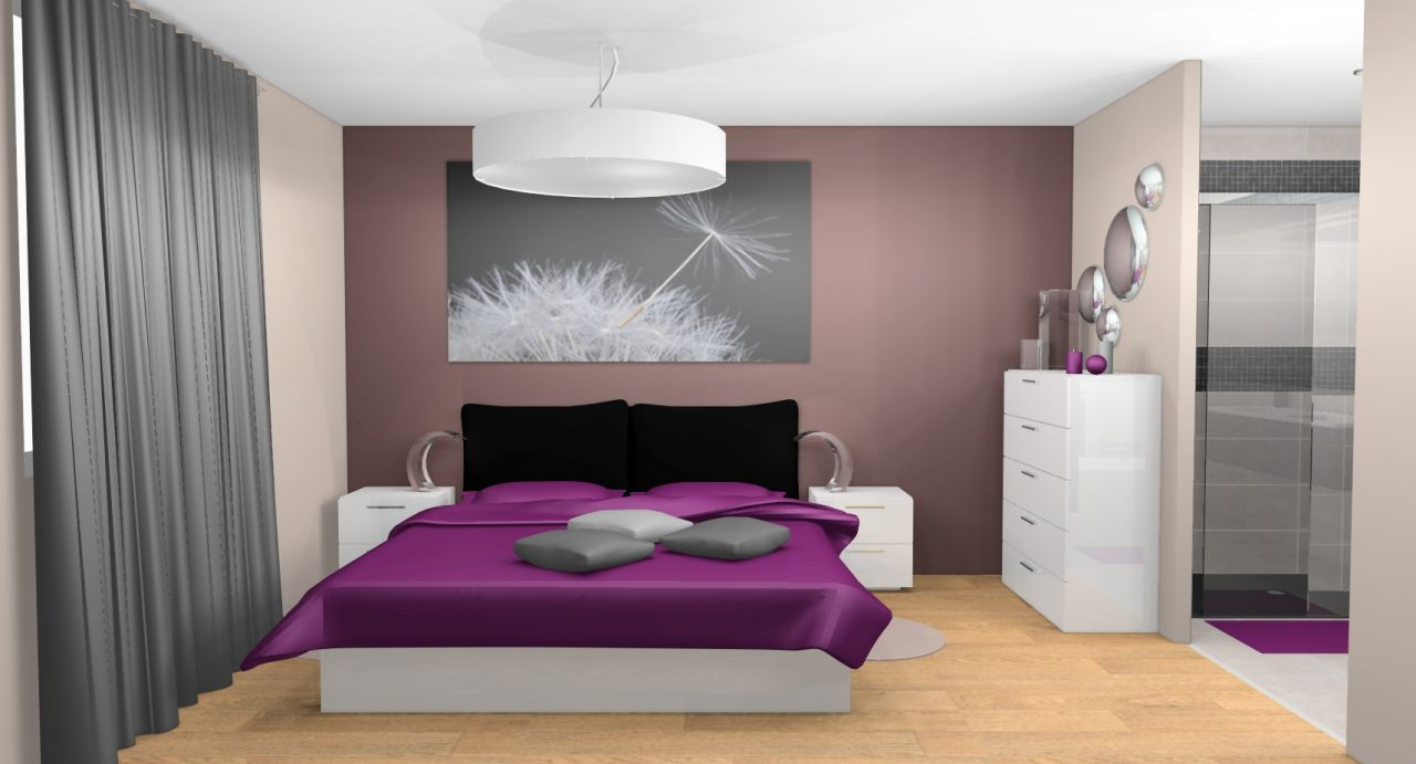Idee decoration chambre parentale meilleures images d for Idee deco photo