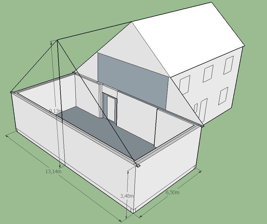 Autoconstruction d 39 un garage etape des plans 9 messages for Cout d un garage en parpaing