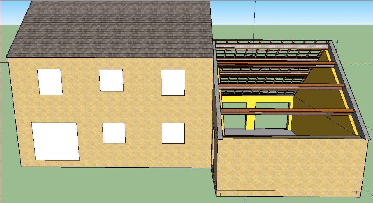 Autoconstruction d 39 un garage etape des plans 10 messages for Cout d un garage en parpaing