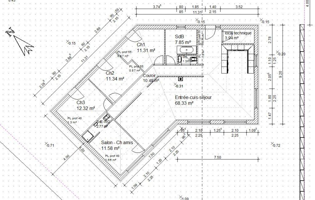 Plan Maison Plain Pied M Etage Ambre Plan Maison Architecte