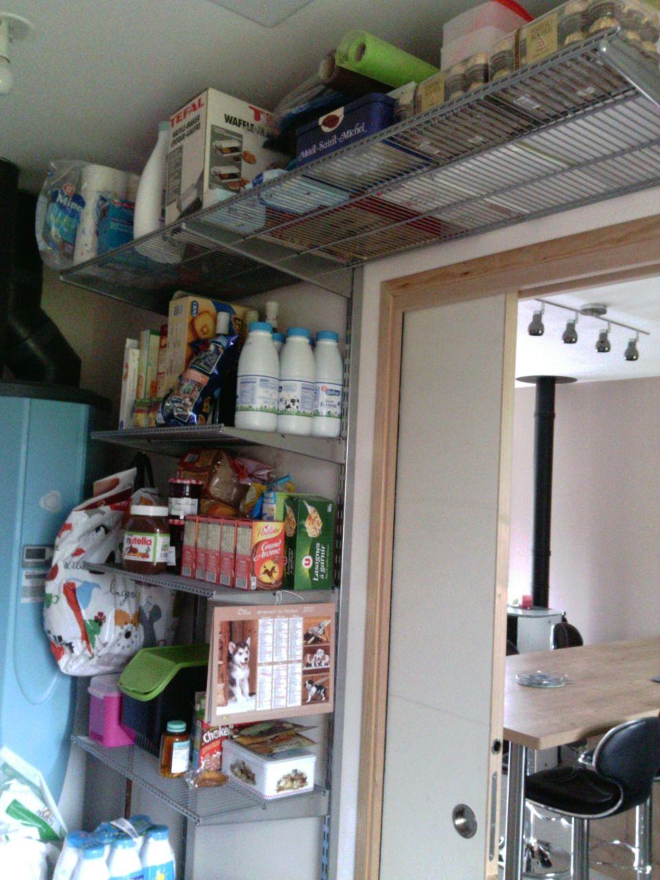 Photo l 39 organisation de notre cellier d coration salon salle mang - Organiser une buanderie ...