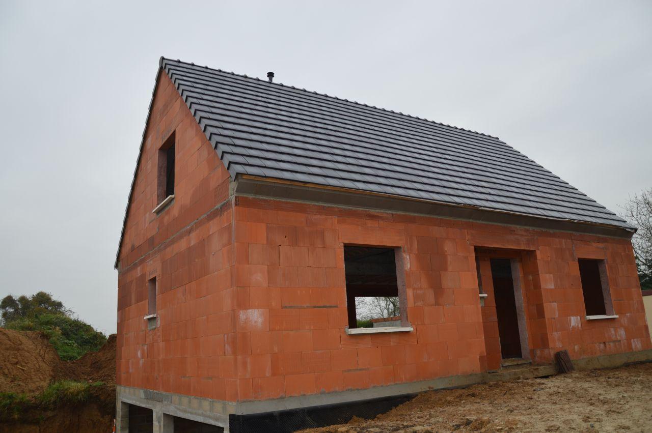 drain et protection soubassement comblement de notre trou toiture et sous toiture somme. Black Bedroom Furniture Sets. Home Design Ideas