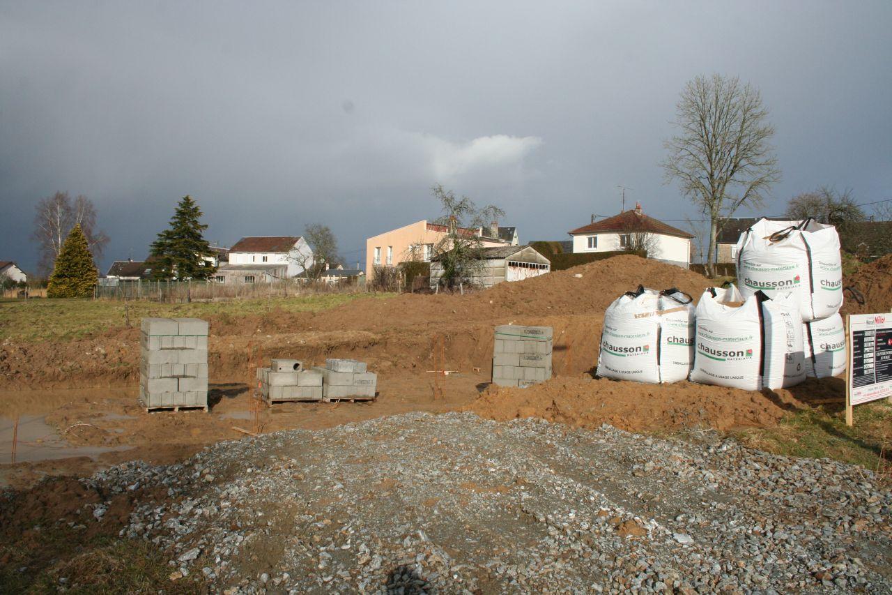 Les matériaux pour le vide sanitaire.