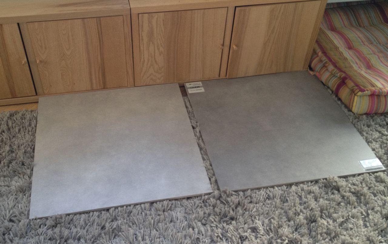 Choix de gauche :  CENDRE Aluminium
