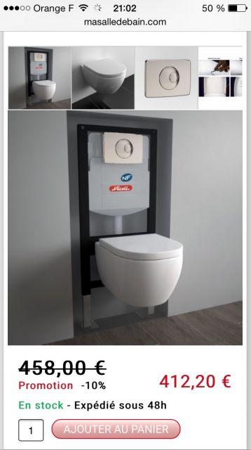 Sanitaire choix des wc et des meubles sdb meubles sdb for Meuble sanitaire wc