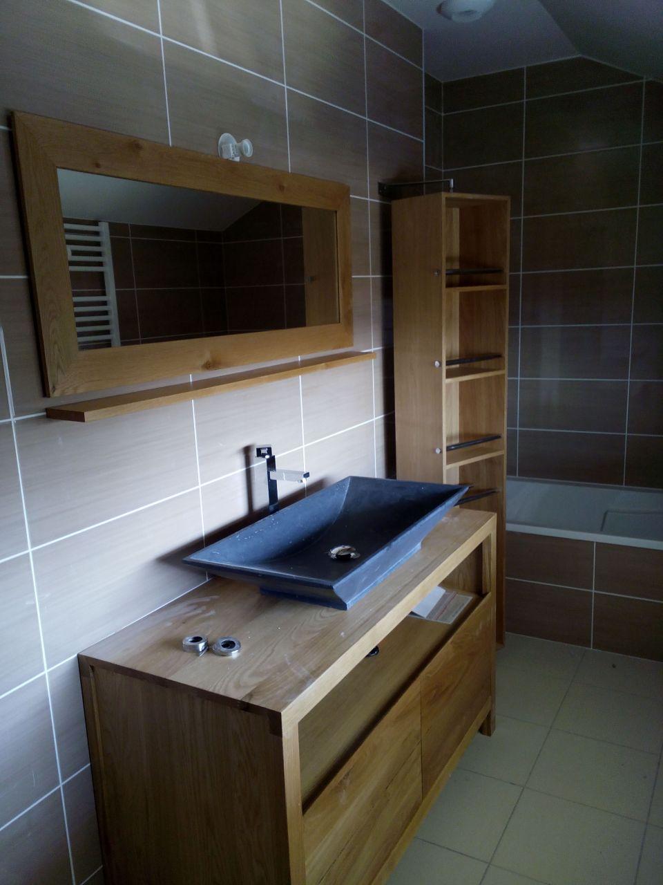Good ainsi que deux luminaires lueau est en service depuis se matin tout fonctionne bien with - Meuble salle de bain cocktail scandinave ...