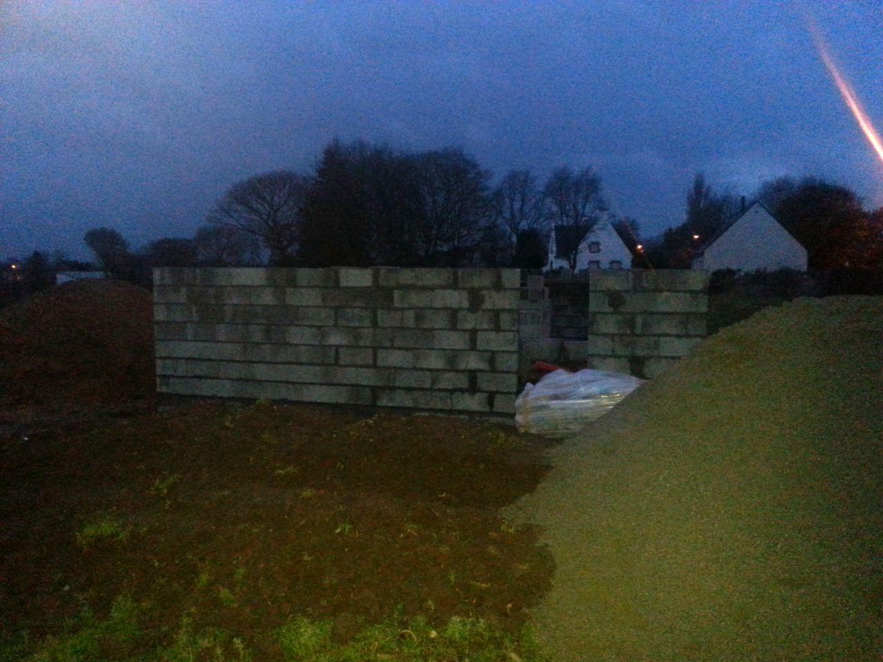 23/02/2015 fin des murs du rdc