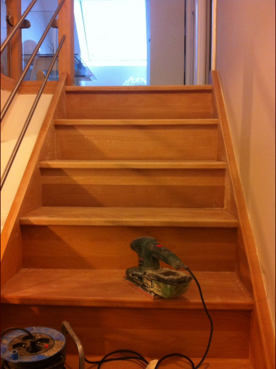Ponçage Escalier