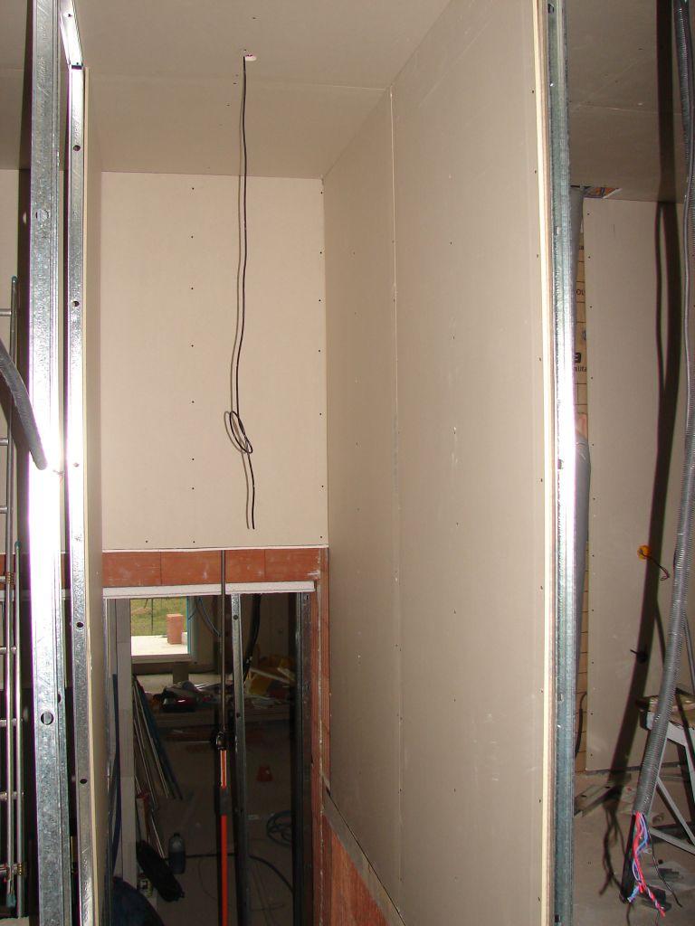 placo placo placo placo portes partie nuit avant d 39 isoler les combles vaucluse. Black Bedroom Furniture Sets. Home Design Ideas