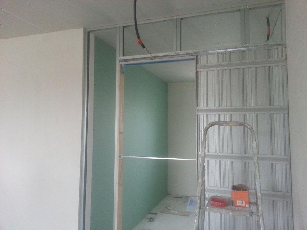 epaisseur cloison ba13 cloison placostil 98 48. Black Bedroom Furniture Sets. Home Design Ideas