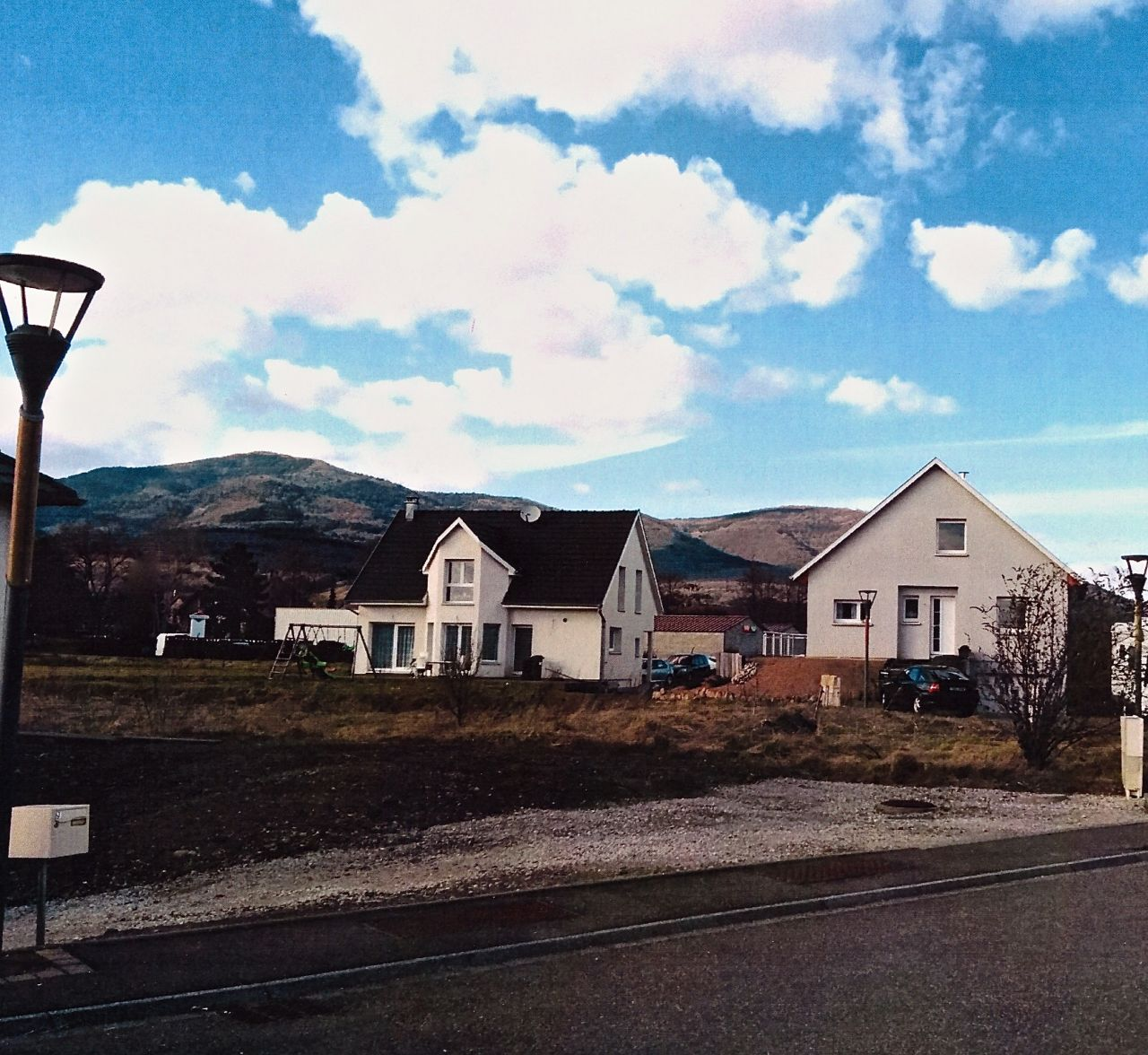 Vue de la rue, photo issue du dossier de Permis de construire