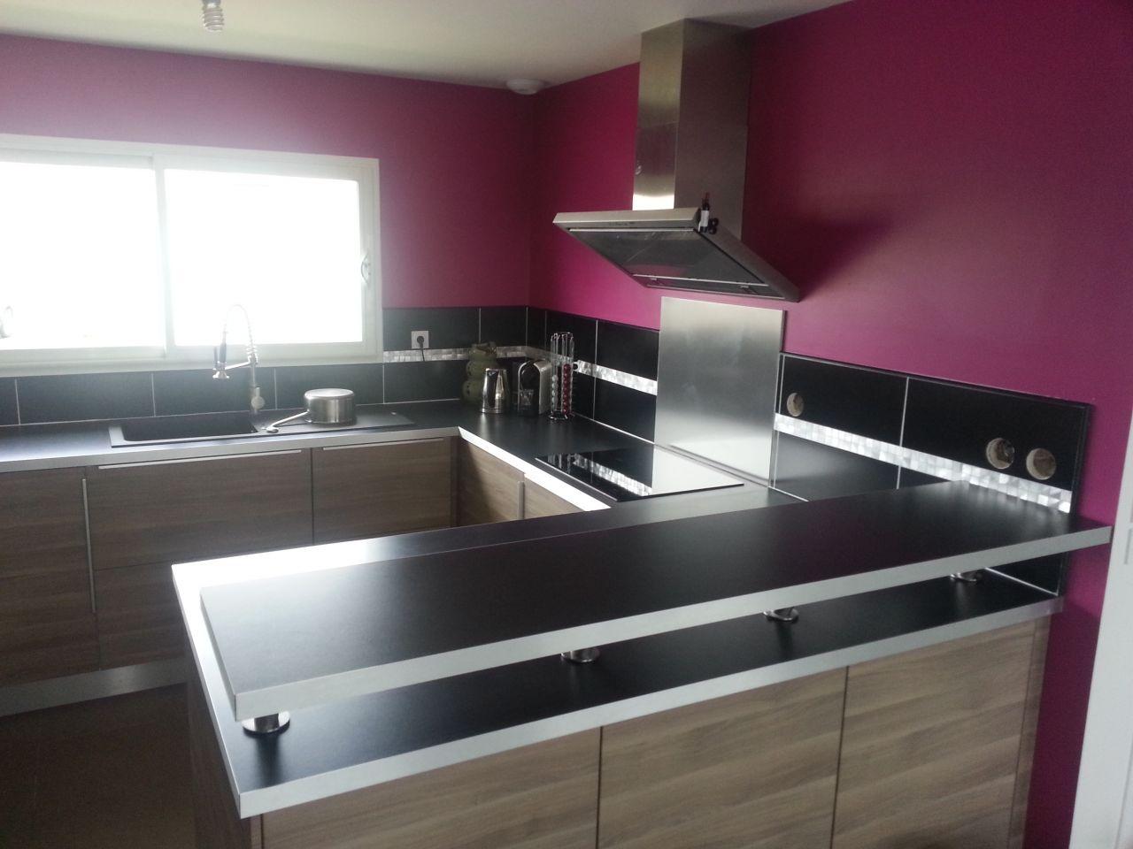 photo cr dence cuisine carrelage fa ence gironde 33. Black Bedroom Furniture Sets. Home Design Ideas