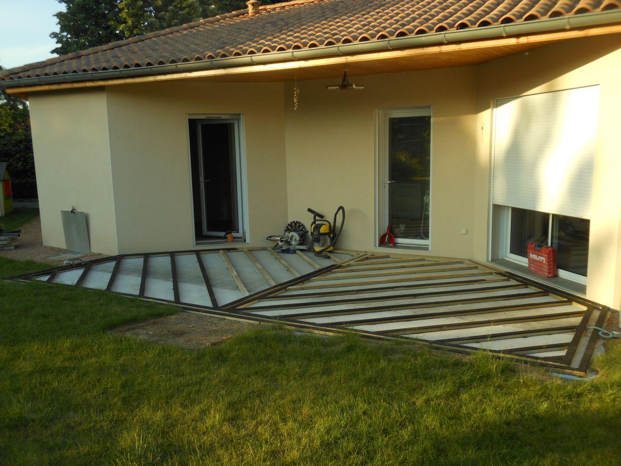 terrasse c 39 est parti notre maison a macon macon. Black Bedroom Furniture Sets. Home Design Ideas