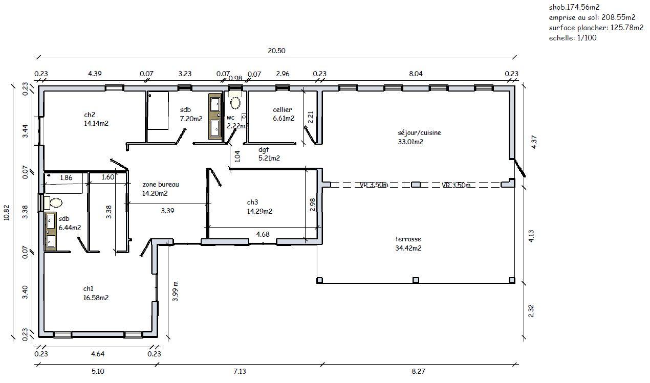 plan de maison keops
