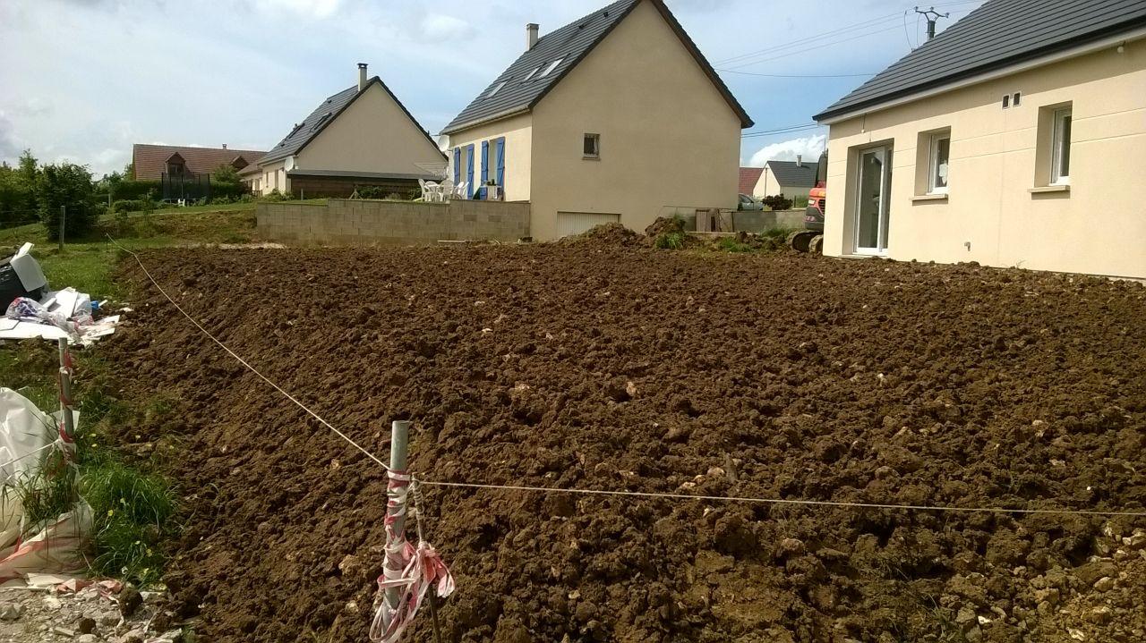 Pr parer son terrain apr s la construction 4 messages - Preparer son terrain avant pelouse ...