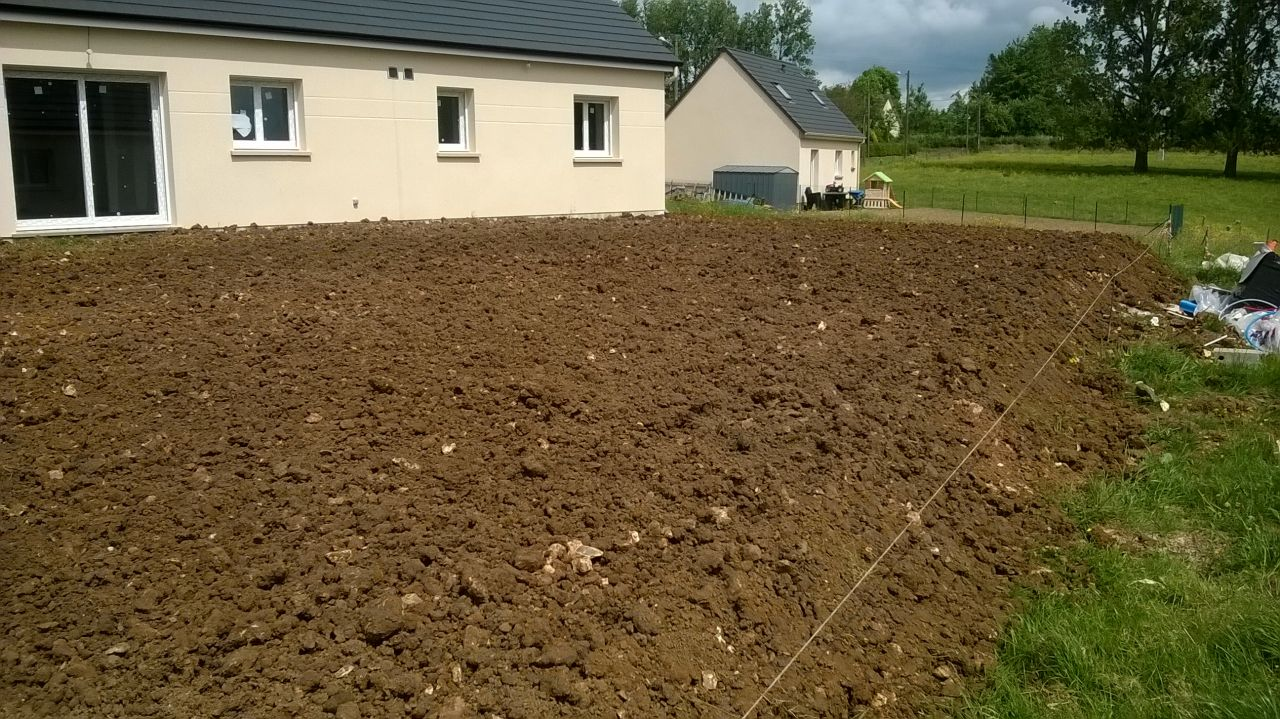 Pr parer son terrain apr s la construction 4 messages for Construction terrain