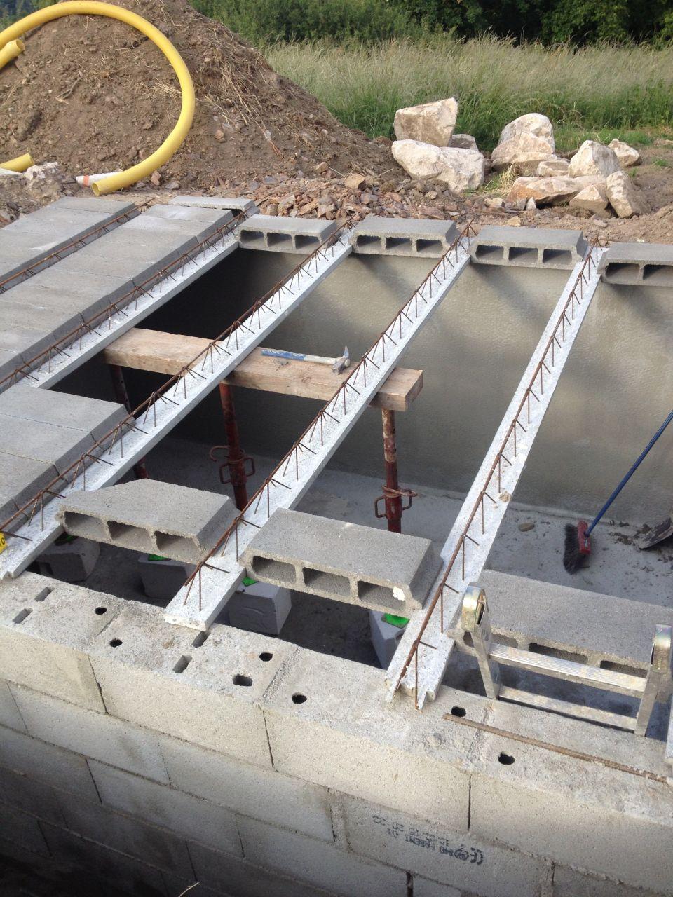 Cuve de récupération d'eau 4m/3m