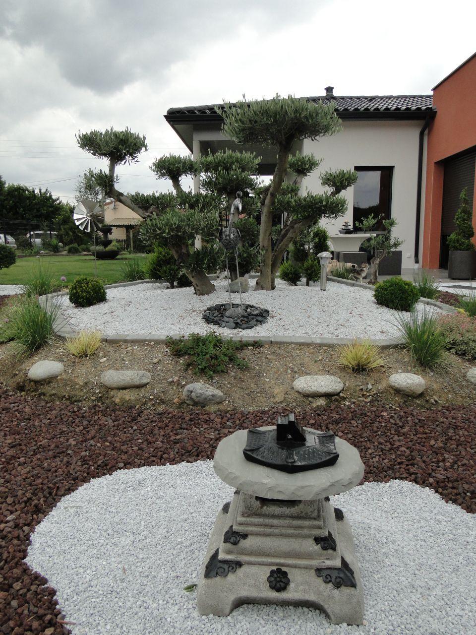 jardin type japonais enfin fini mis en place d. Black Bedroom Furniture Sets. Home Design Ideas