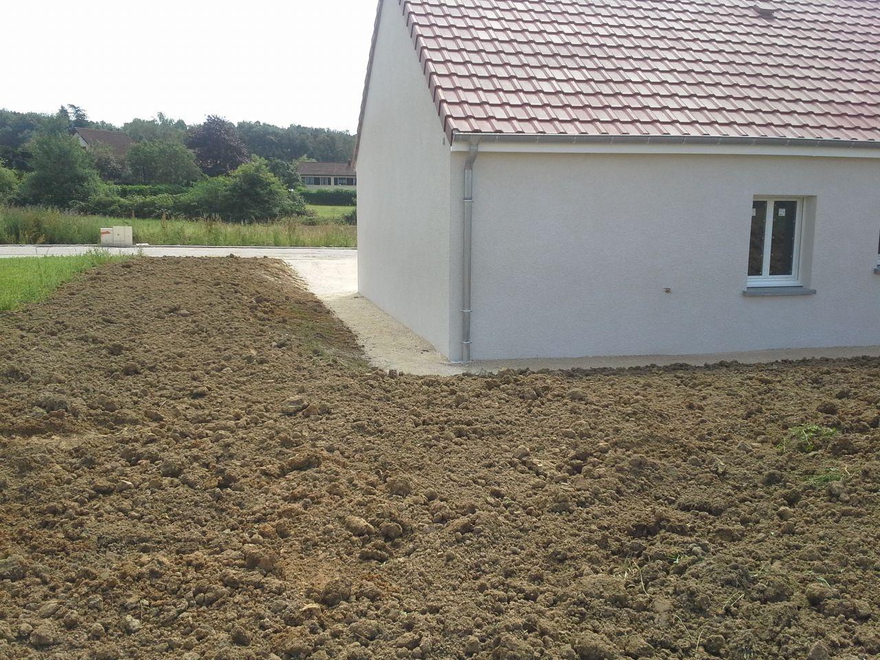 Fin des travaux pour mfc terrassement termin for Autour de la maison anglet