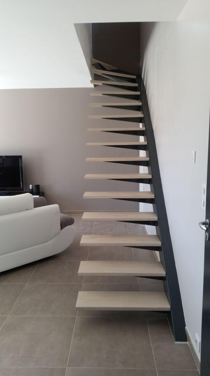 10 id es d 39 escaliers en m tal les s lections de l 39 quipe - Escalier en apesanteur ...