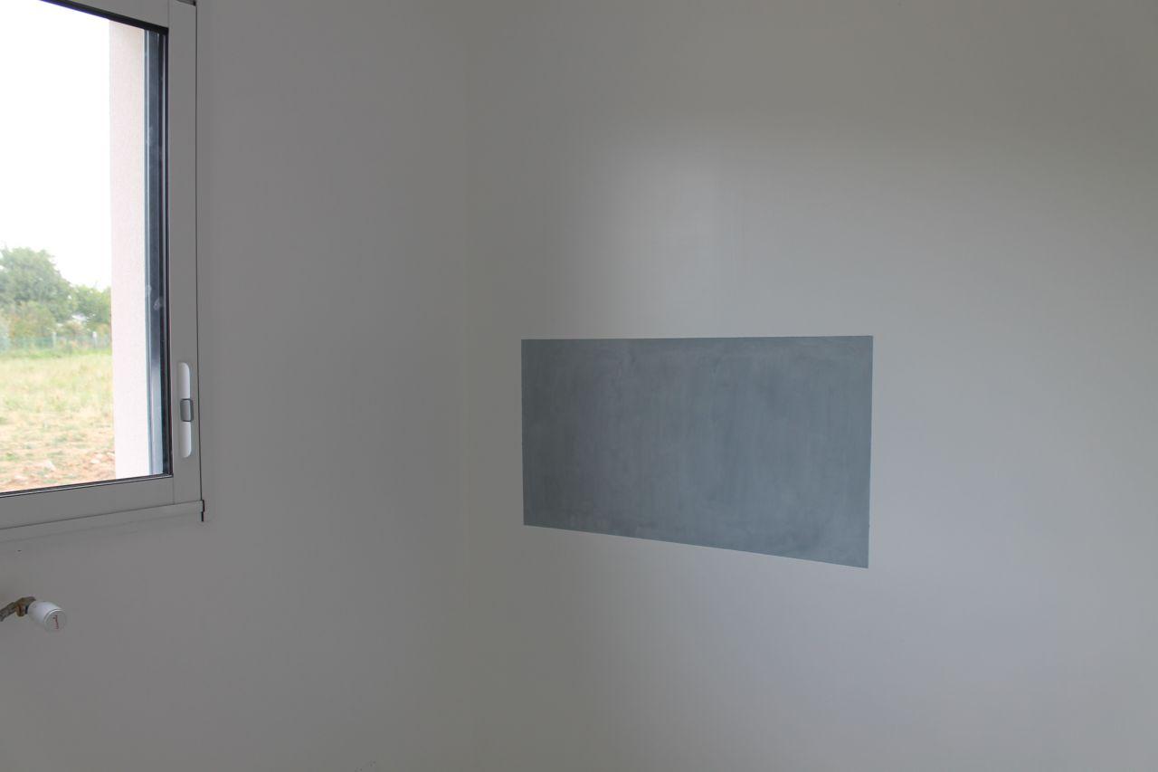 peinture pour tableau magnétique avant peinture définitive