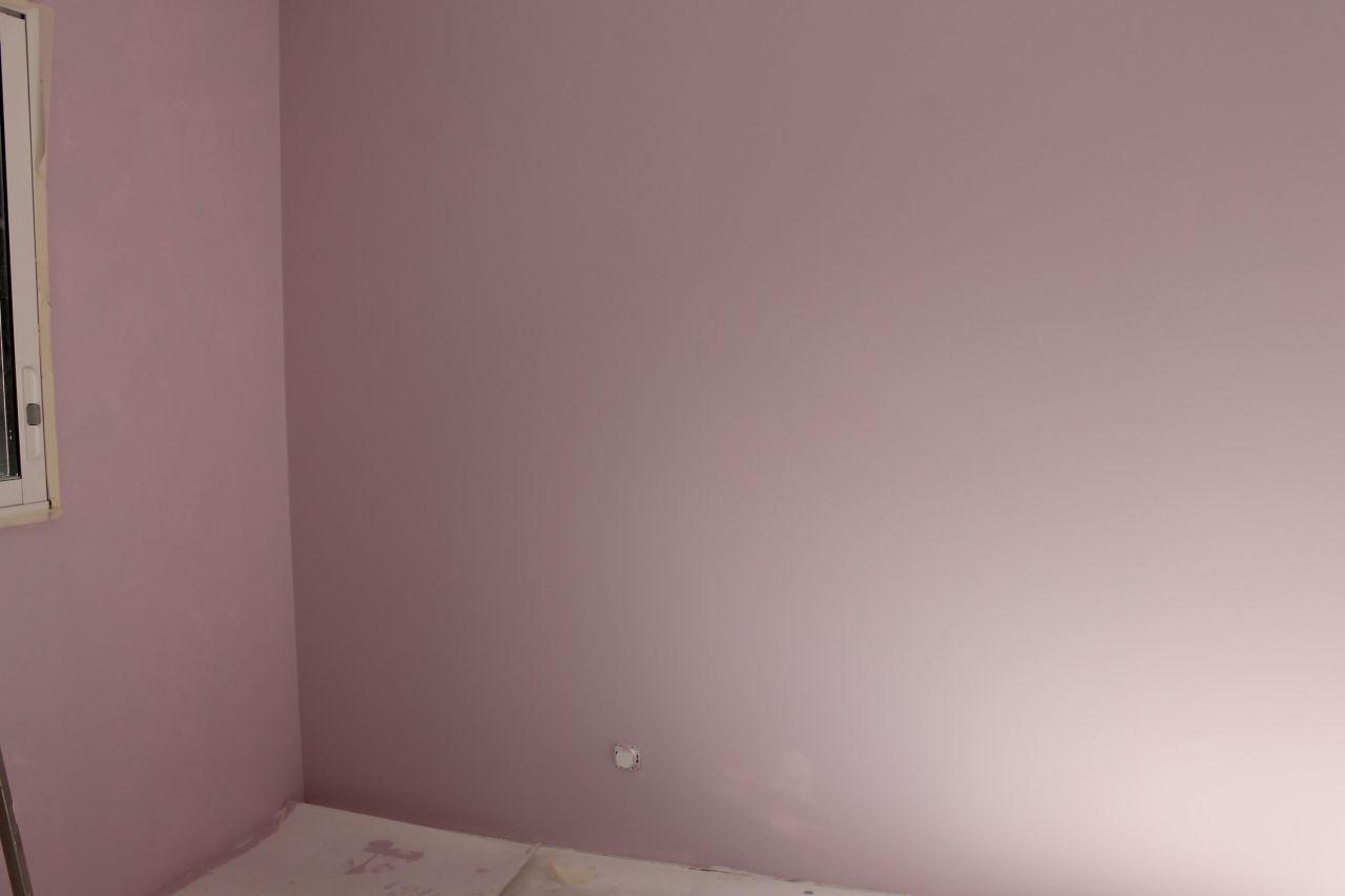 peinture chambre fille pastel Bali de Dulux valentine