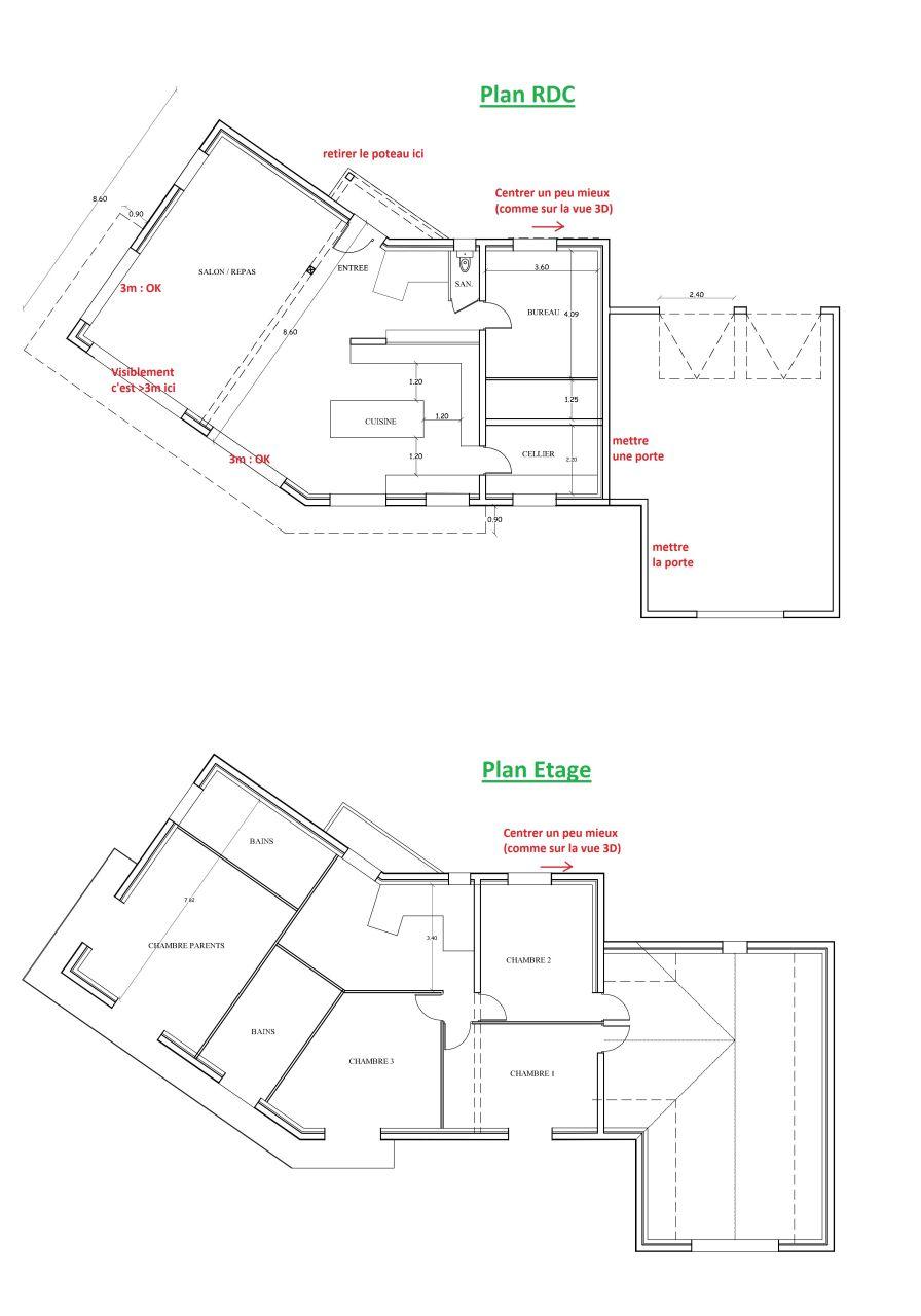 Plan RDC et Etage, v_01/07/2015