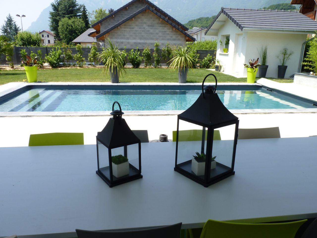 Piscine blocs à bancher - Savoie (73) - juillet 2015