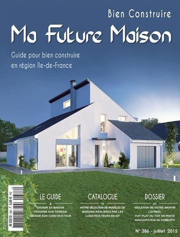 Plans de maisons de formes originales - Seine Et Marne (77) - juillet 2015