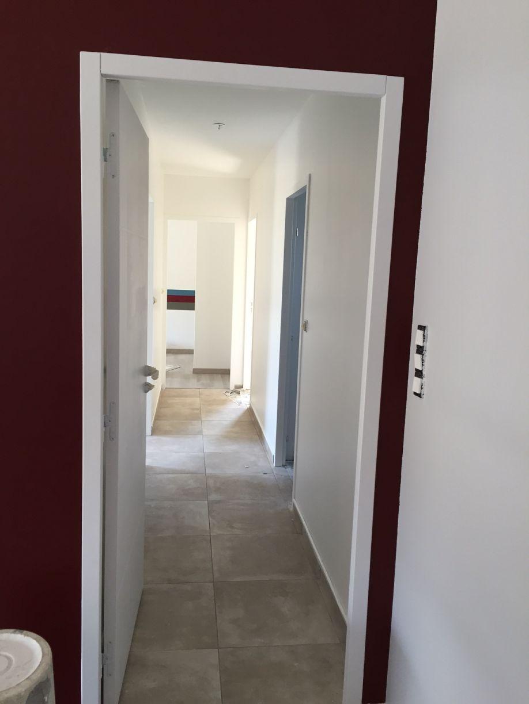 peinture couloir fini