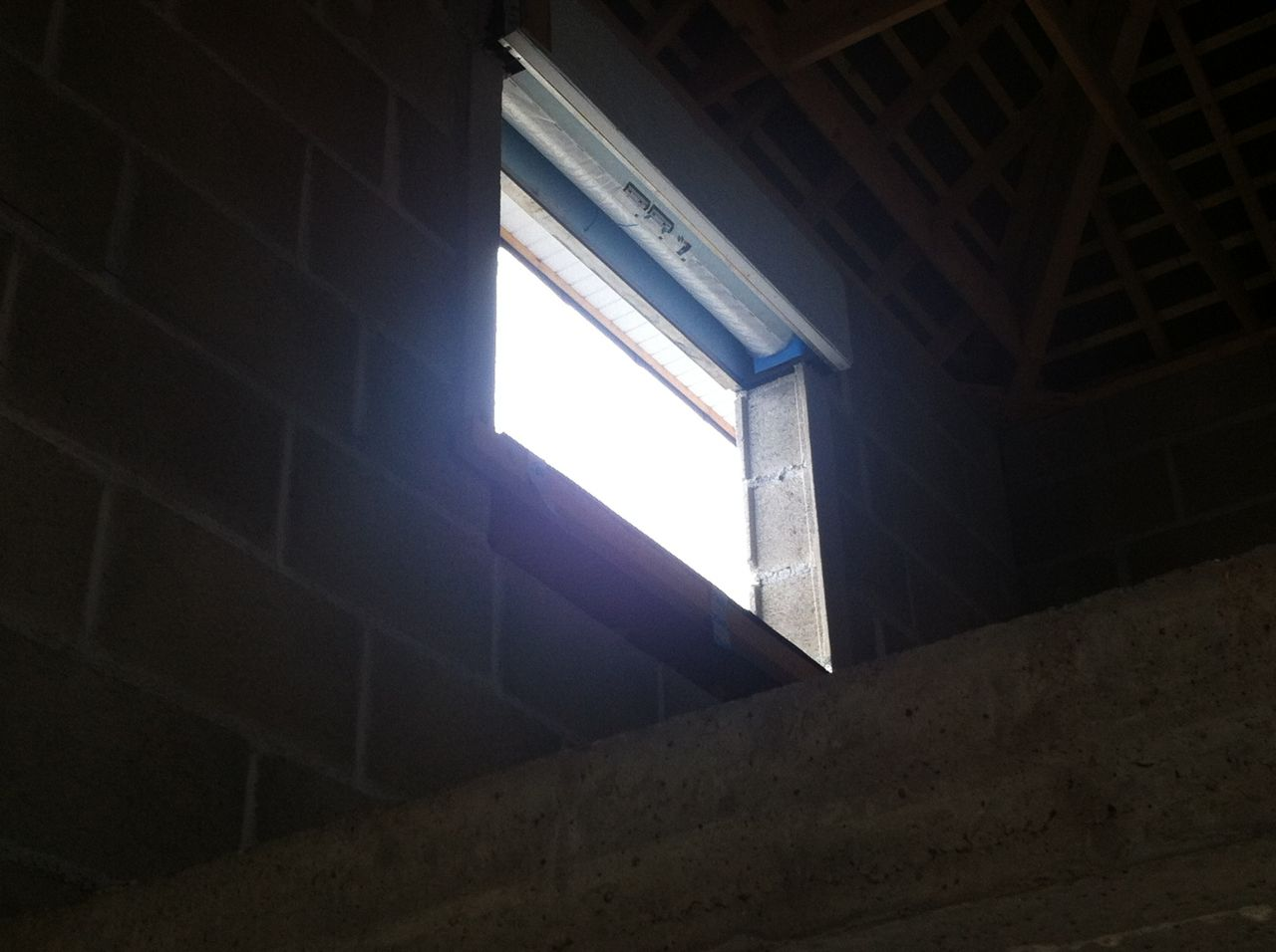 fenêtre avant