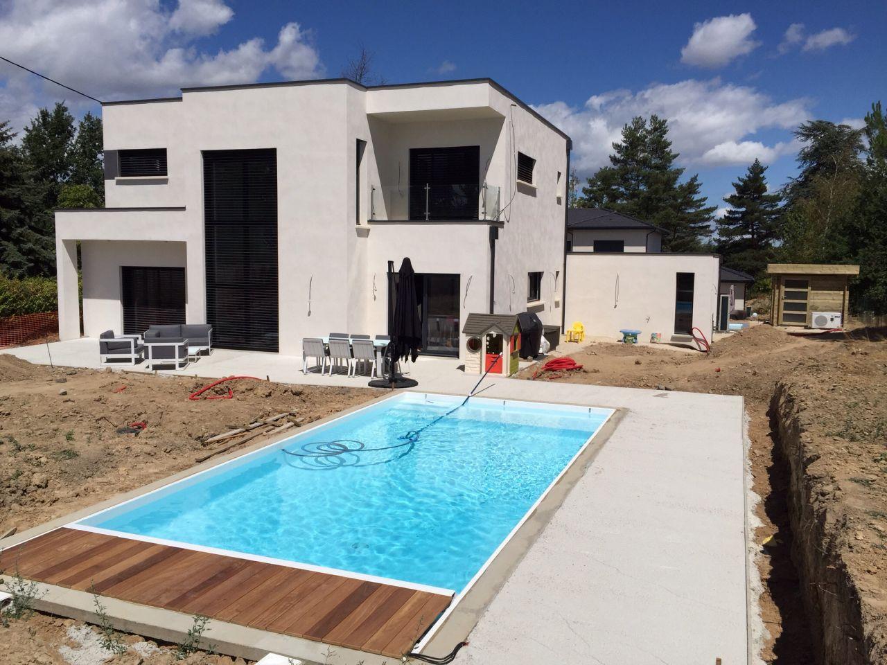 Volet roulant pour piscine immergé - Rhone (69) - juillet 2015