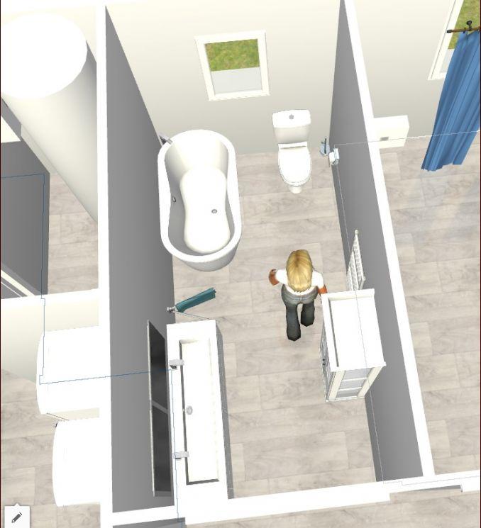 salle des bains des filles