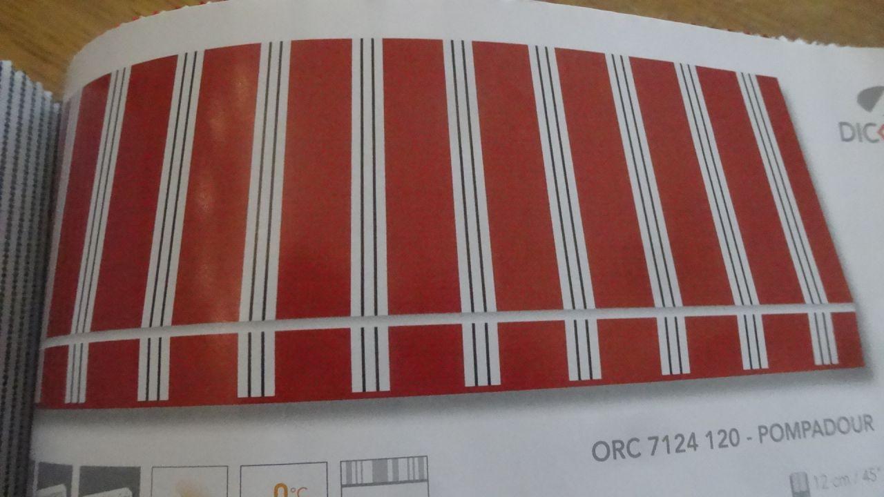 choix du store 6m x 4m ( coloris cerise )