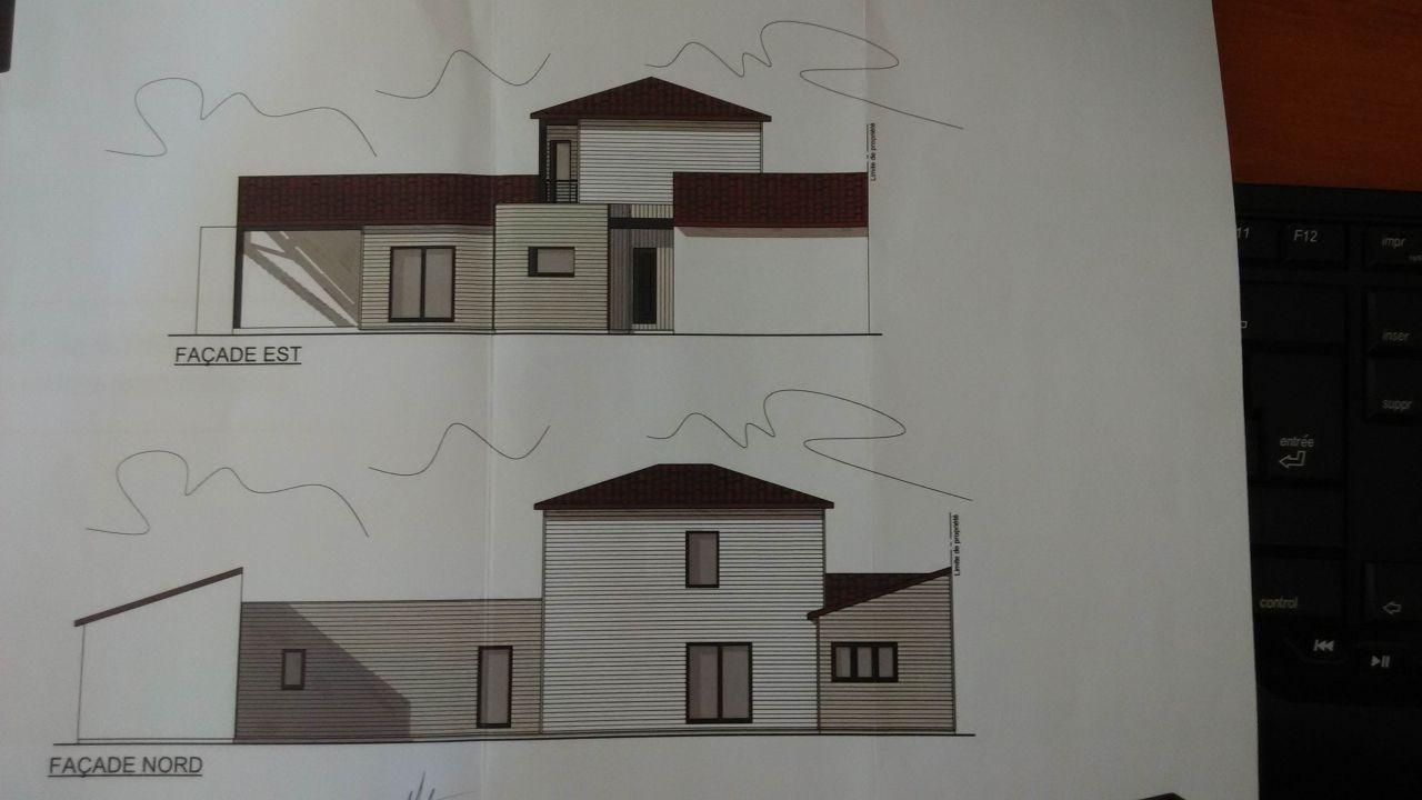 Vue facade EST / NORD